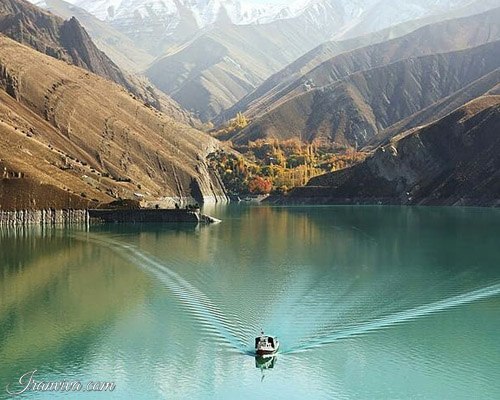 Amirkabir Reservoir in iran - Iran Tours & Travel