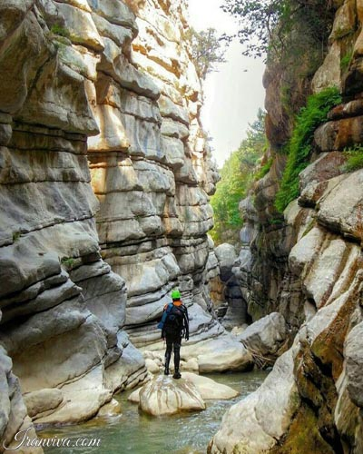 Chakrood canyon - Iran Tours & Travel
