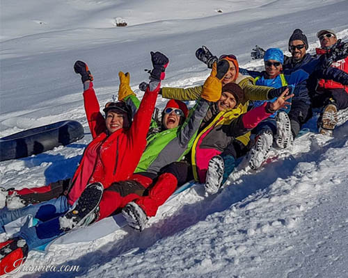 Khor Ski Resort in iran - Iran Tours & Travel