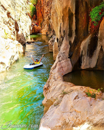 Li Li Canyon - Iran Tours & Travel - Iranviva