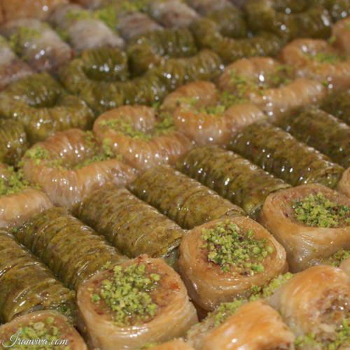 Baklava of Tabriz - Best Photos of Iran - Iranviva