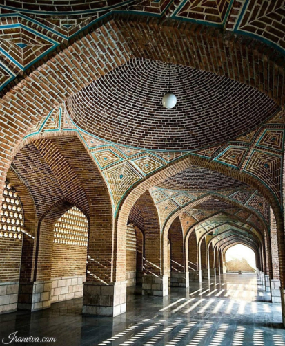 Blue Mosque of Tabriz - Best Photos of Iran - Iranviva