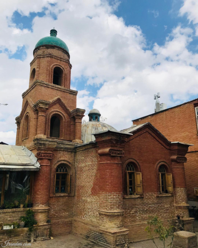 Cantour Church in Qazvin - Best Photos Of Iran - Iranviva