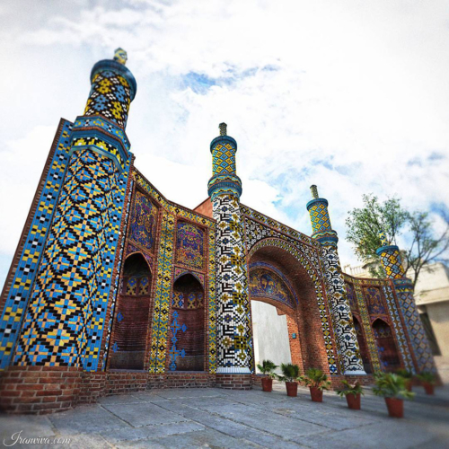 Darb-e Koushk Gate in Qazvin - Best Photos Of Iran - Iranviva