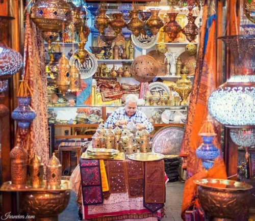 Bazaar of Isfahan - Best Photos of Iran - Iranviva