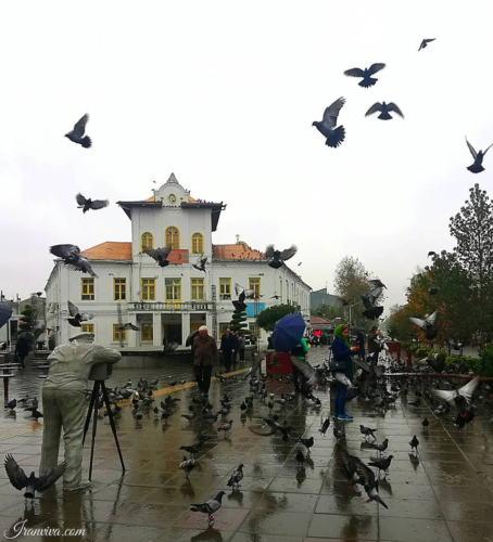 Shahrdari Square in Gilan Province - Best Photos Of Iran - Iranviva