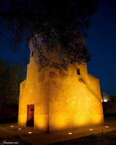 Tomb Of Hamdollah Mostofi in Qazvin - Best Photos Of Iran - Iranviva