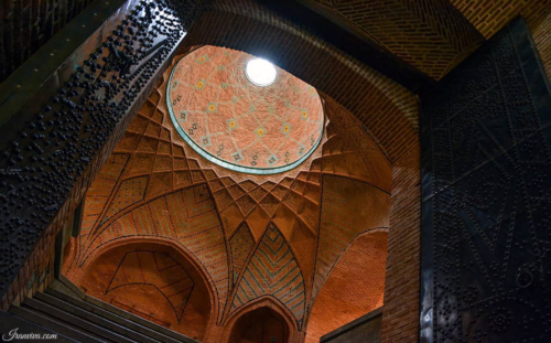 Caravanserai of sa'd al-saltaneh in Qazvin - Best Photos Of Iran - Iranviva