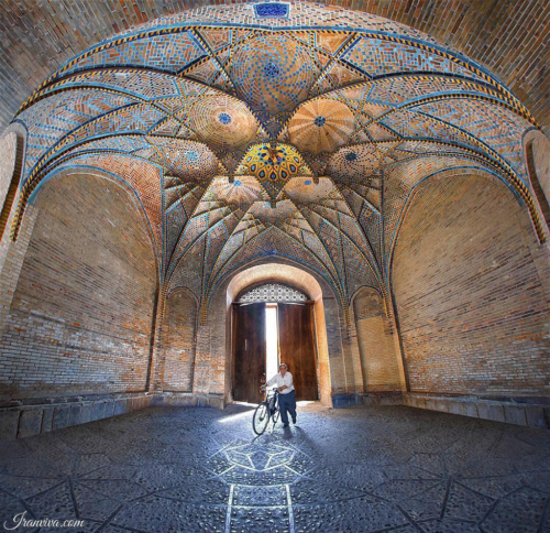 Jameh mosque of Qazvin - Best Photos Of Iran - Iranviva