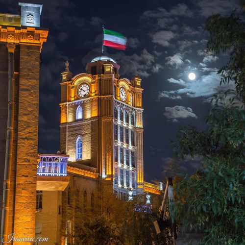 Saat Square of Tabriz - Best Photos of Iran - Iranviva