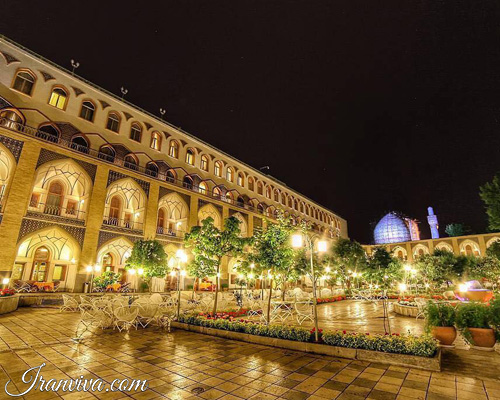 Hotel Abbasi in Isfahan - Iran Tours and Travel