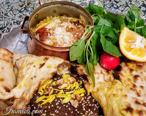Isfahan Traditional food - Iran Tours and Travel