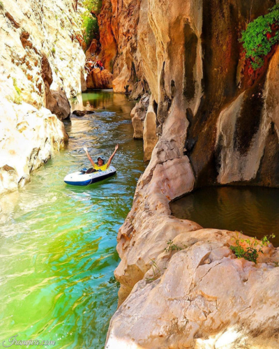 Ley-Ley canyon in Lorestan - Best Photos Of Iran - Iranviva