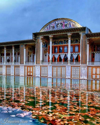 Afif_Abad garden in shiraz city - Iran Tours and Travel