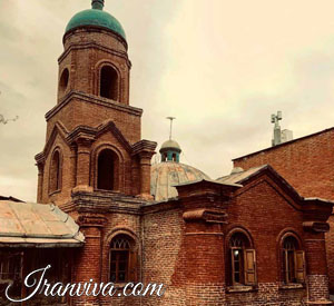 Cantour church-qazvin
