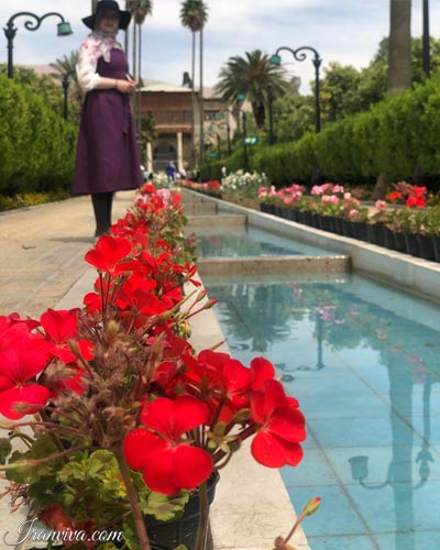 Delgosh_Garden in shiraz city - Iran Tours and Travel