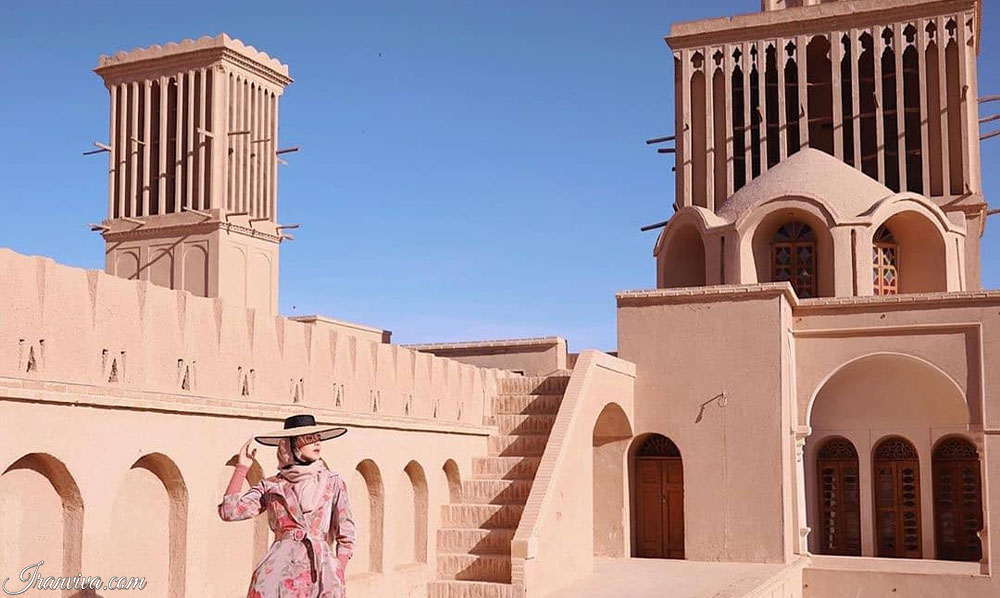 Yazd city-irantours and travel