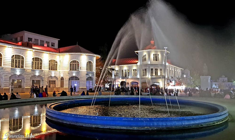 Gilan Rasht Square Saat - Best Cultural and Adventure Tours