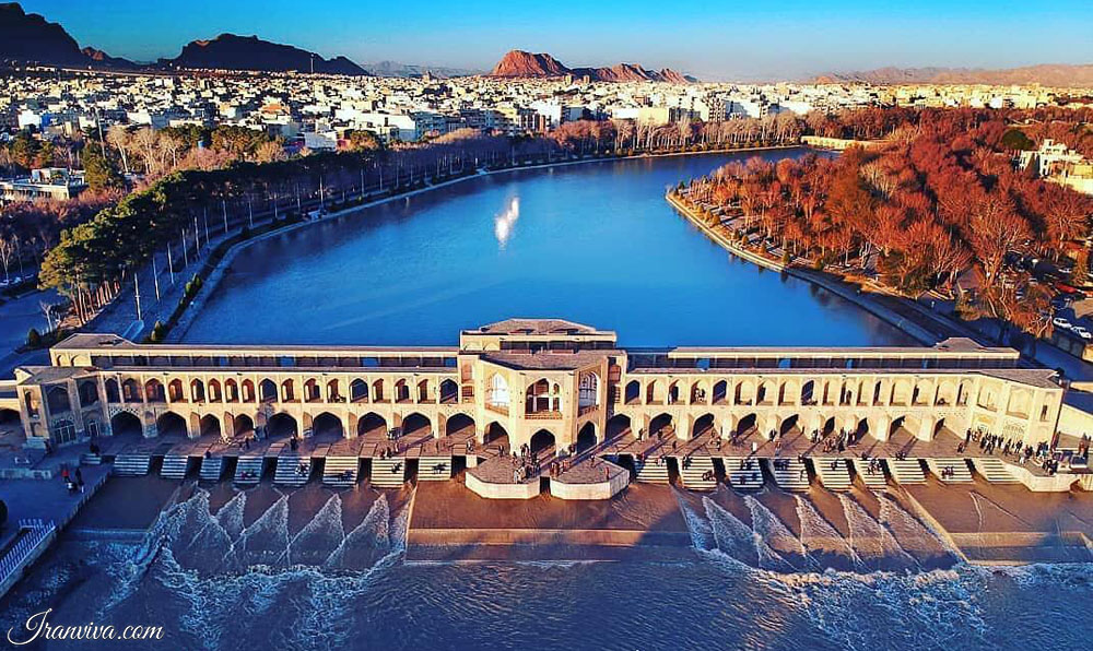 Khaju Bridge - Isfahan - Iran Tours & Travel