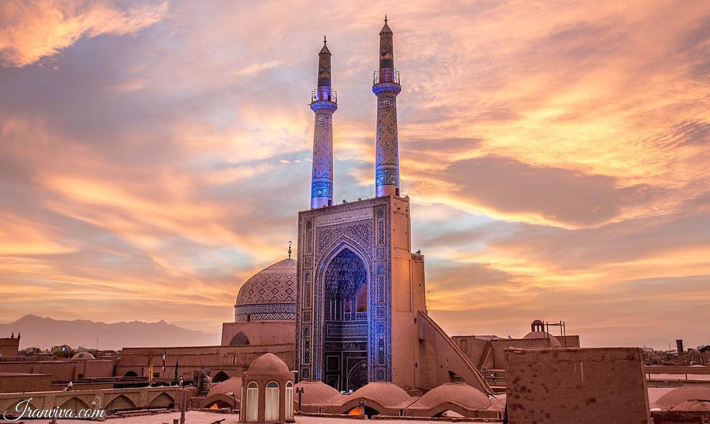yazd masque - Iran Tours & Travel