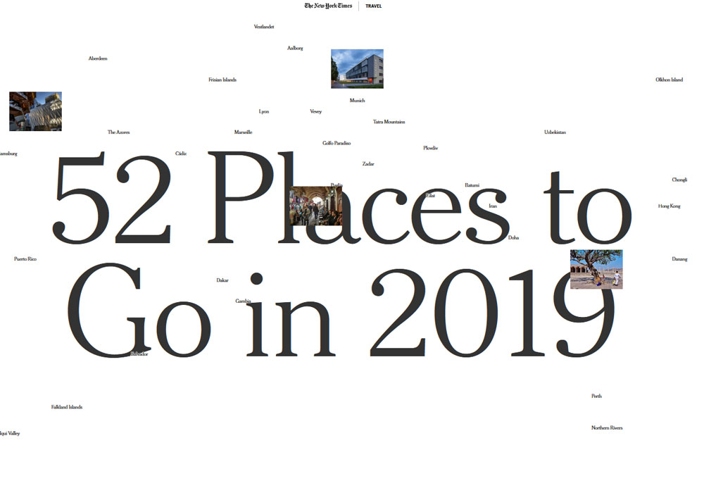 52 Place to Go in 2019 - Iran Tours - Iranviva