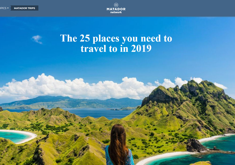 The 25 Places you need to travel in 2019 - Iran Tours - Iranviva