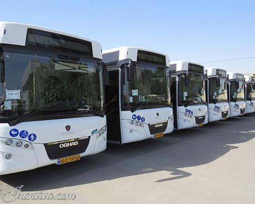 Intra-city Bus Service - Iran Travel - Iranviva