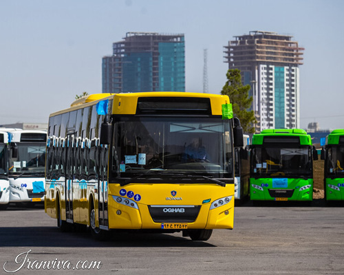 Intra-city Bus Service in Isfahan - Iran Travel - Iranviva