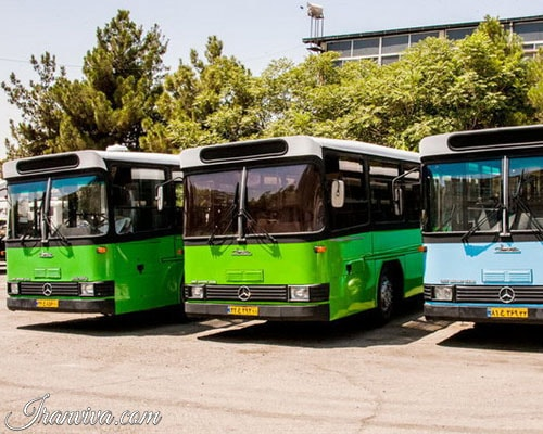 Intra-city Bus Service in Tehran - Iran Travel - Iranviva