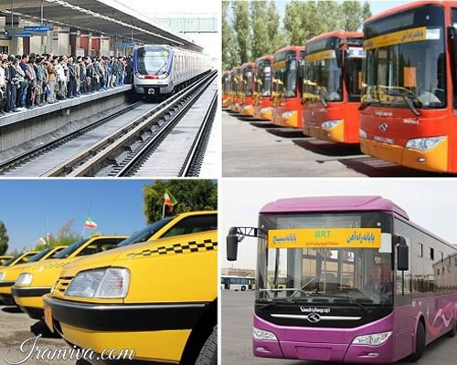 Tehran Public Transportation - Iran Travel - Iranviva