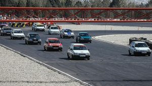 Inauguration of the first Formula One racetrack in Markazi province