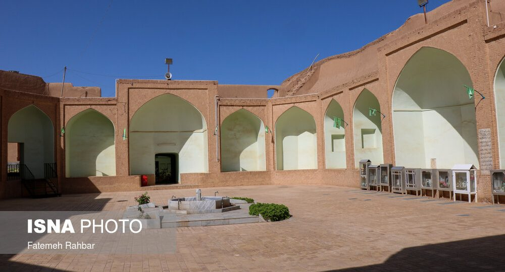 Ruined today; The starting point of Islam in Yazd