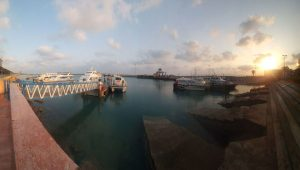 Closure of Qeshm passenger wharf due to unfavorable weather conditions