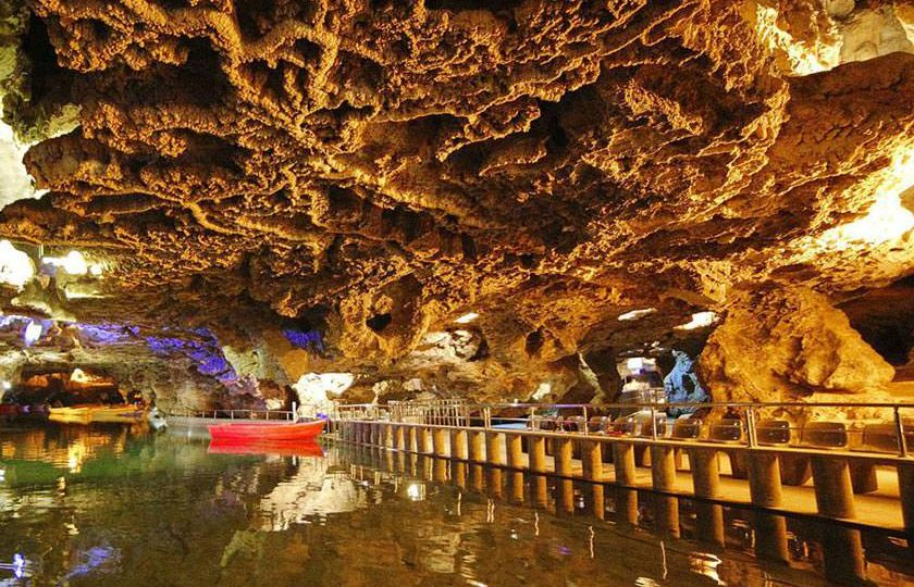 Ali Sadr Cave was reopened