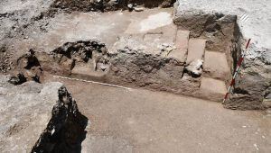 Discovery of Sassanid fire temple in Savadkuh city