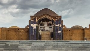 Kaboud Mosque of Tabriz, Kaboud from the unhappiness of the times