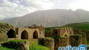 Ilam Buffalo Bridge; A bridge that is a relic from the Sassanid period