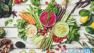 Celebrate eating raw and looking for a healthy diet for all ages