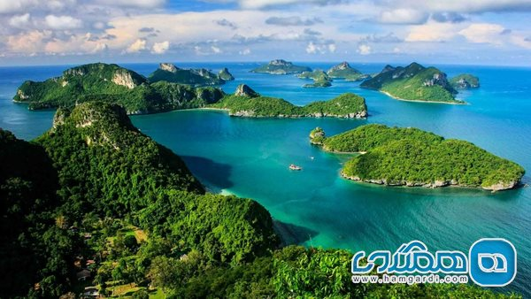 Get acquainted (gain, obtain) with some of Thailand's most spectacular islands