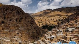 Palangan village in Kurdistan; A combination of architectural art and the glory of nature