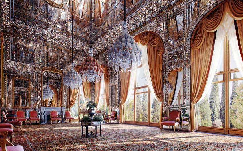 Golestan Palace is one of the most spectacular places in Tehran